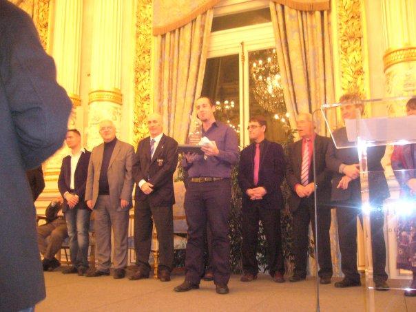 Lyon Riders récompensée lors de la cérémonie des Espoirs Sportifs du Rhône