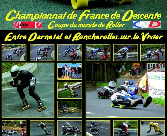DARNETAL 2010, 1ère étape du Championnat de France de Descente, les 14/15/16 mai 2010
