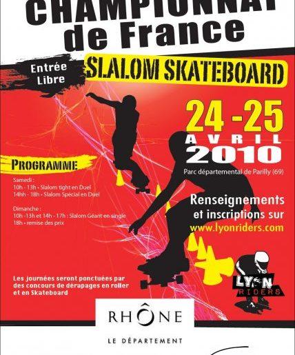 Parilly Slalom Contest, 2ème étape du Championnat de France de Slalom, les 24/25 avril 2010